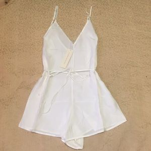 Other - Naked princess silk romper